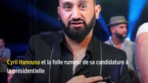 Cyril Hanouna et la folle rumeur de sa candidature à la présidentielle