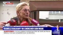 Isabelle Balkany attend avec impatience la libération de son mari devant la prison de la Santé