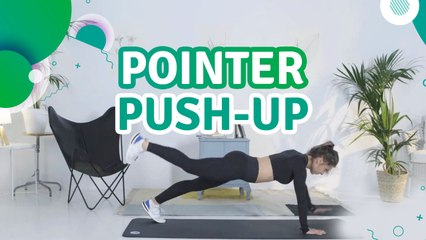 Pointer push-up - Fit People