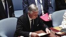 Discours du roi Philippe à l'ONU