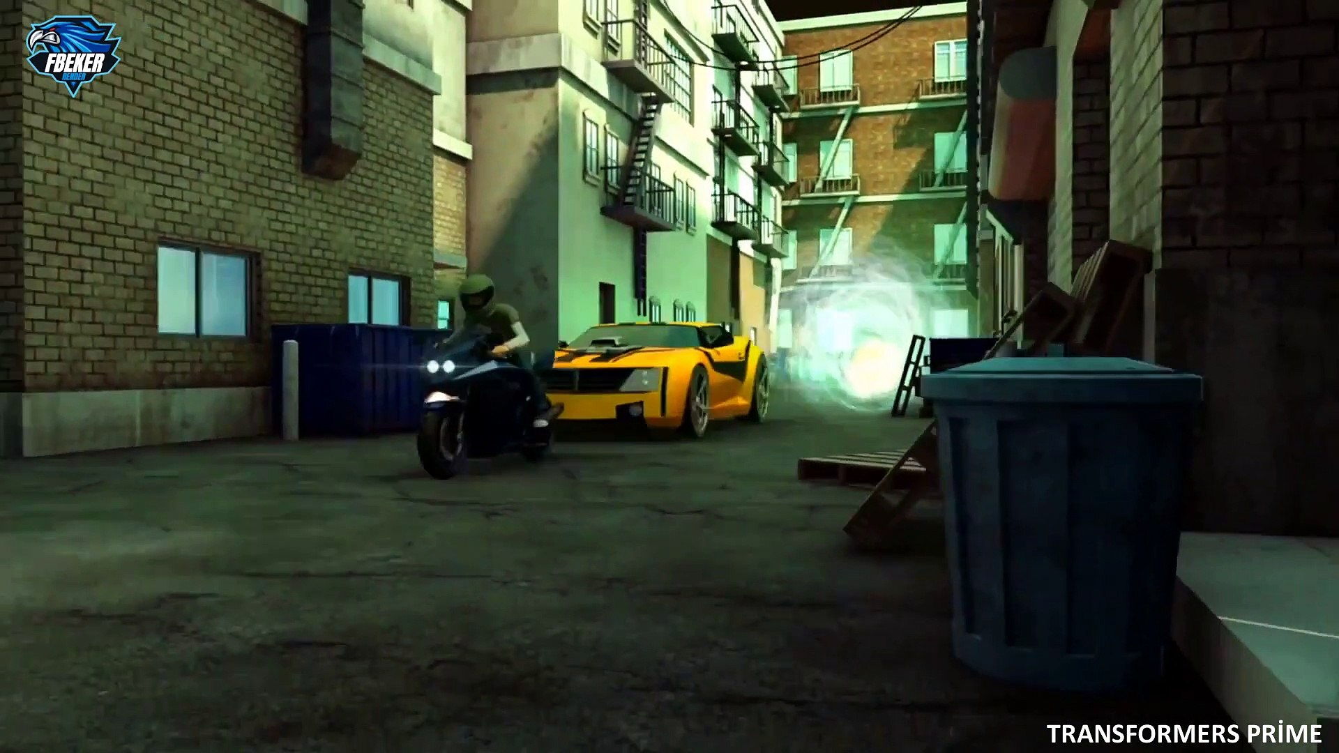 Transformers Prime 38.Bölüm Tünel Görüşü Full Hd