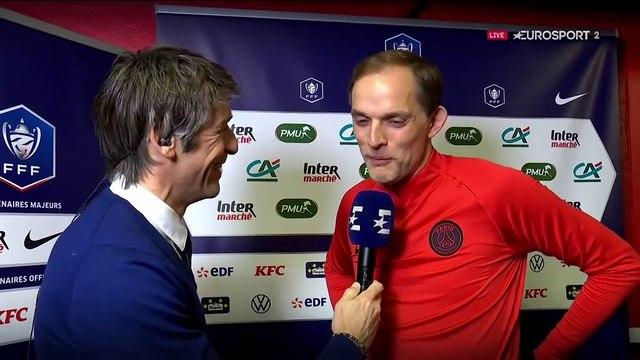 "Tuchel : ""Si Cavani peut marquer 300 buts, c'est bien"""