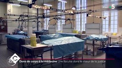 Le scandale des corps donnés à la science - C à Vous - 12/02/2020