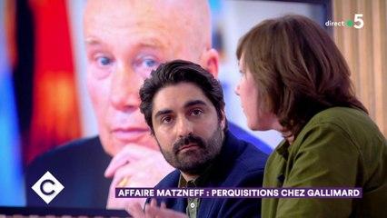 Affaire Mazneff : perquisitions chez Gallimard - C à Vous - 12/02/2020