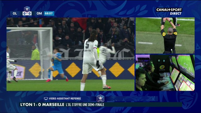 Main ou pas lors de Lyon / Marseille ? - Late Football Club