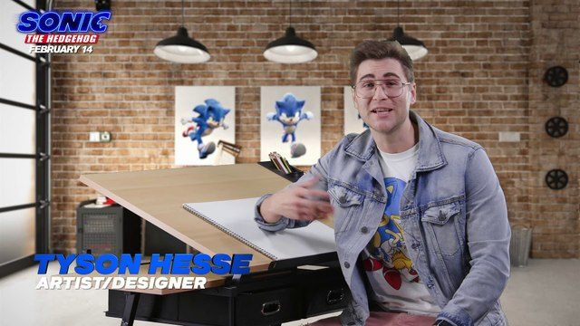 Sonic The Hedgehog movie - How To Draw Sonic