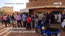 Les Soudanais souffrent de pénuries, dix mois après le départ de Béchir