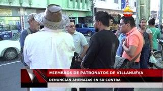 Miembros de patronatos de Villanueva denuncian amenazas en su contra