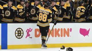 David Pastrnak scores 40th in fourth hat trick of the season