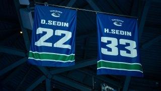 Canucks retire 22 and 33 for Daniel and Henrik Sedin
