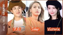 [Showbiz Korea] P.O(피오) & Solar(솔라, MAMAMOO)! Celebrities' Orange Fashion