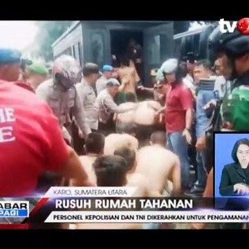 Kerusuhan di Rutan Kabanjahe Sumut, Napi Saling Lempar Batu