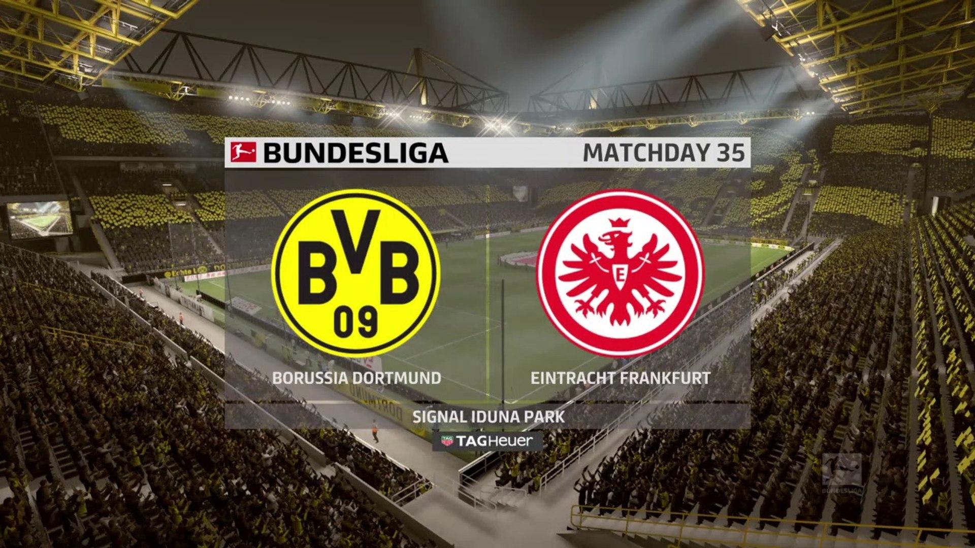 Borussia Dortmund vs Eintracht Frankfurt 2020- Bundesliga 2019-2020 HD FIFA
