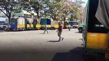 Effect of Karnataka bandh at APMC yard in Bengaluru