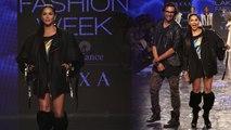 Sunny Leone's Ramp walk in mini dress at Lakme Fashion Week In Mumbai | FilmiBeat