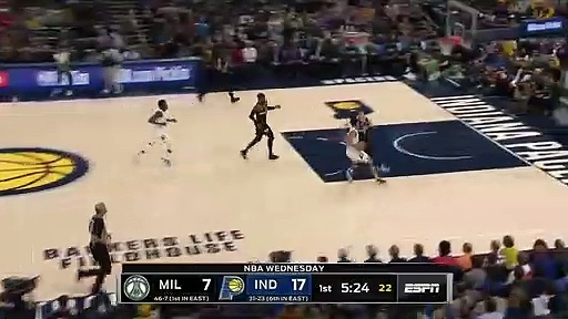 Milwaukee Bucks 111 - 118 Indiana Pacers