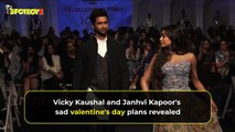 Vicky Kaushal And Janhvi Kapoor's SAD Valentine's Day Plans REVEALED