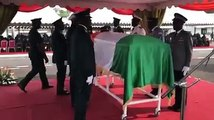 [#Armée ] - Honneur funèbre militaire au feu colonel Issiaka Ouattara dit Wattao à l'Etat Major des Armées en présence du Ministre d'Etat, ministre de la Défense Hamed Bakayoko