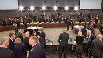 Milli Savunma Bakanı Akar, NATO Karargahı'nda - İkinci gün oturumları