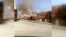 Üsküdar'da binanın çatısında çıkan yangın söndürüldü