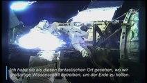 US-Astronautin schwärmt über die Erde aus dem All