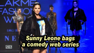 Sunny Leone bags a comedy web series