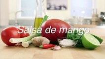 Receta de salsa de mango