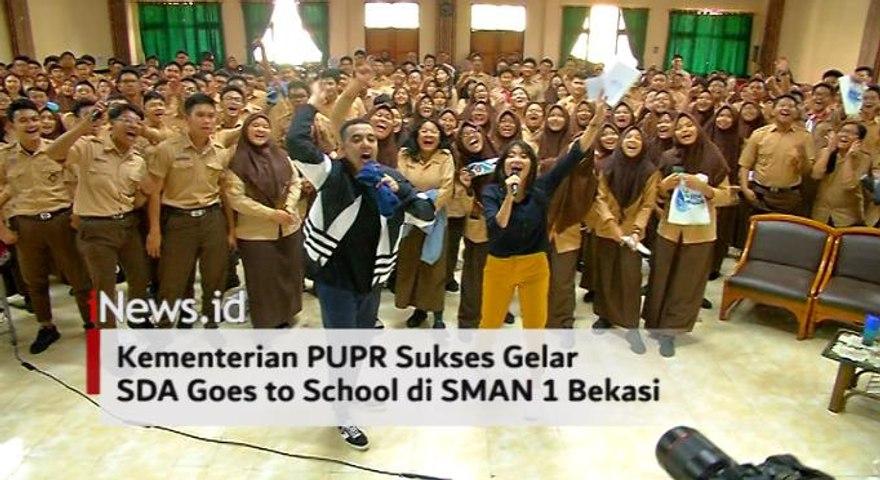 Video Kementerian PUPR Sukses Gelar SDA Goes to School di SMAN 1 Bekasi