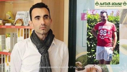 Antonio a perdu 22kg dans le centre Naturhouse d'Olivet (45)