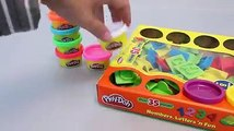 Play Doh Learn ABC Alphabet Letter and Number Play Dough Toy