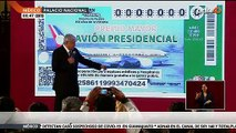 AMLO pidió apoyo a empresarios para la compra de billetes del avión presidencial