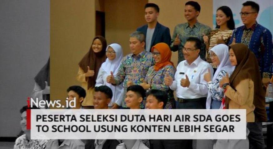 Video Peserta Seleksi Duta Hari Air SDA Goes to School Usung Konten Lebih Segar