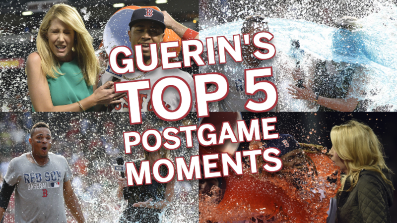 Guerin Austin's Top 5 Postgame Celebration Moments: #2 Xander Bogaerts