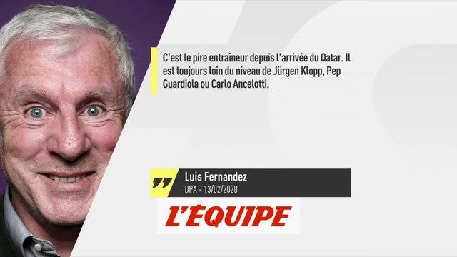 Fernandez vs Tuchel, le tacle du jour - Foot - L1 - PSG