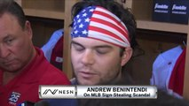 """Andrew Benintendi On Sign-Stealing: """"We Know That We Didn't Do Anything."""""""