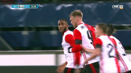 Leroy Fer 15'|Heerenveen 0-1 Feyenoord |