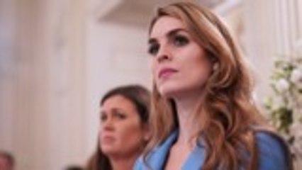 Hope Hicks Leaving Fox to Return to Trump White House   THR News
