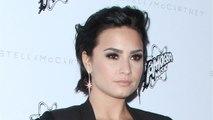 Demi Lovato Cuts Hair Into Asymmetrical Lob