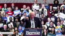 'Bernie Holy Water': Rally Crowd Reacts As Sanders Gives Water To Someone With Medical Issue