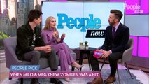 'Zombies 2' Stars Milo Manheim and Meg Donnelly Reveal Their Craziest Fan Encounters