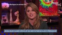 Jenna Bush Hager Says Dad George W. Bush and Ellen DeGeneres Can 'Still Be Friends' Despite Beliefs