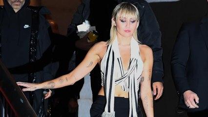 Miley Cyrus Made Fun of Her NYFW Wardrobe Malfunction