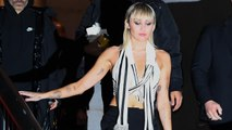 Miley Cyrus Made Fun of Her NYFW Wardrobe Malfunction