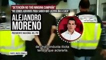 Emilio Lozoya era del equipo de Peña Nieto, no militante del PRI: Alejandro Moreno