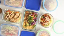 How to Meal Prep Healthy Low-Carb Lunches