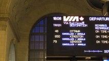 Nationwide Via rail shutdown waylays travellers