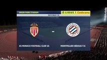 AS Monaco vs Montpellier 2020,  Ligue 1 2019-2020 HD
