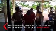 Detik-Detik Aksi Cabul Rekam Celana Dalam Wanita Terekam CCTV