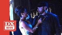 Salma Hayek Calls Eminem 'The Greatest' After Spilling Water On Him