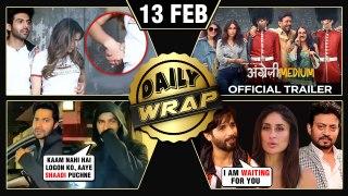 Sara Kartik ROMANCE, Angrezi Medium Trailer, Varun On Marriage With Natasha   Top 10 News
